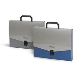 Mape-portfelis FORPUS A4 zila ar rokturi