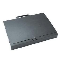 Mape portfelis Multi-S A4/45mm ar pogu, melna krāsa