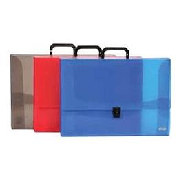 Mape-portfelis A3/25mm ar slēdzi, asorti krāsas