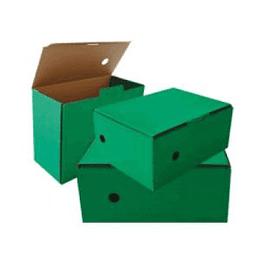 Arhīva kārba 150x250x340mm, zaļa krāsa, SMLT