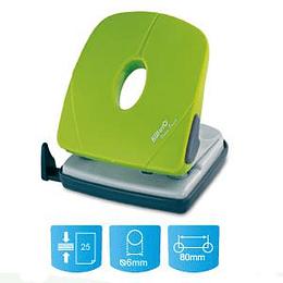 Дырокол KW-triO 096PO-GREEN, на 25 листов, зеленый