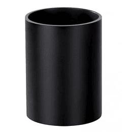 Glāze zīmuliem melna plastika FORPUS