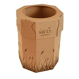 Papīrgrozs no gofrēta kartona, SMLT
