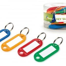 Брелок для ключей, цвета ассорти 12 штук