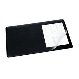Galda segums 40x53cm melns ar plēvi, DURABLE