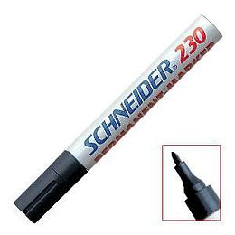 Permanentais marķieris 230 melns, Schneider