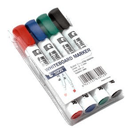 Marķieru komplekts tāfelei STA, konisks, 4 krāsas