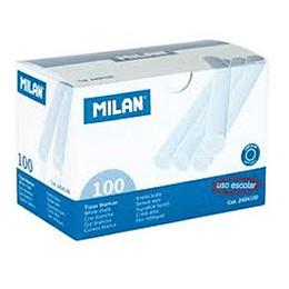 Мел белый 100 штук MILAN