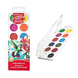 Акварельные краски 12 цветов ArtBerry, ErichKrause