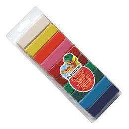 Plastilīns 10 krāsas x 25gr. JOVI