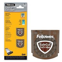 Лезвия для роликовых ножей FELLOWES SafeCut (2 штуки- прямые)
