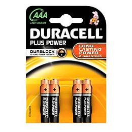 Baterijas AAA DURACELL Alkaline LR03 cena par 4gab.