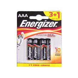 Baterijas AAA LR03 1.5V ENERGIZER, cena par 4gab.