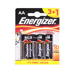 Baterijas AA LR6 1.5V ENERGIZER, cena par 4gab.