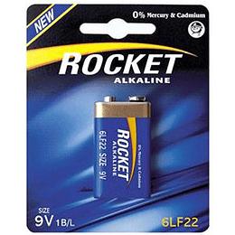 Baterija 9V 6LF22 Rocket krona