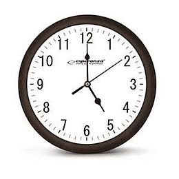 Sienas pulkstenis LOS ANGELES Esperanza, brūna krāsa