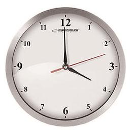 Sienas pulkstenis DETROIT Esperanza sudraba krāsa