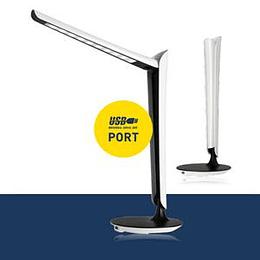 Galda lampa LED 8W + USB PDL9 Platinet
