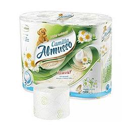 Tualetes papīrs Almusso Camilla Delicate 4 ruļļi 3 slāņi