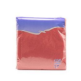 Salvetes 24x24 cm, 100 salvetes, bordo krāsa