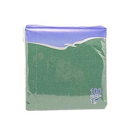 Salvetes 24x24 cm, 100 salvetes, zaļas