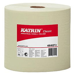 Industriālais papīrs Classic L Yellow 470m, 1 slānis, Katrin