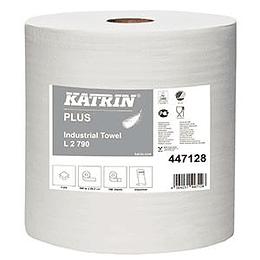 Industriālais papīrs Plus L2, 2 slāņi, 300m. 2 rulli, Katrin