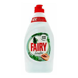 FAIRY sensitive Tea tree & Mint 450ml trauku mazg. līdzeklis