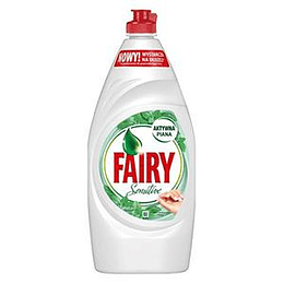 FAIRY Sensitive Tea tree & Mint 900ml trauku mazg. līdzeklis