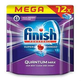 Tabletes trauku mazgāšanas mašīnam FINISH QUANTUM MAX, 72gab