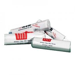Мусорные мешки 60 литров/50шт/63x74см/5 мкр прозрачные, HDPE
