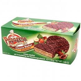 Vafeles ar šokolādi un riekstu krēmu 110g