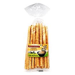 GRISSINI maizes standziņas ar sezama sēklām 250g Italija
