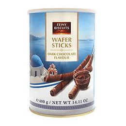 Vafeles ar tumšās šokolādes krēmu 400g