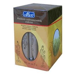 Коричневый сахар в пакетиках ALVO, 5гр./50штук