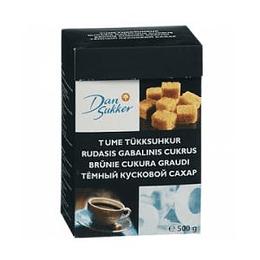 Рафинад DAN SUKKER, коричневый 500g