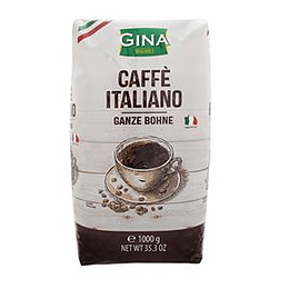 Kafijas pupiņas GINA CAFFE ITALIANO 1kg