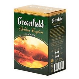 GREENFIELD Golden Ceylon, beramā melnā tēja 100g