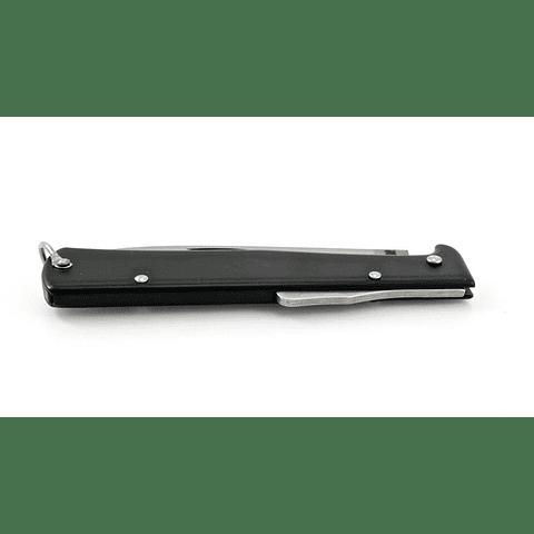 Otter Messer - Navalha Mercator Preta Gr. c/ Cordão de cabedal