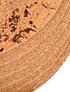 Individual Redondo Mármore Natural (6 uni)