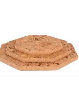 Marbre naturel hexagonal (3 pièces)