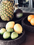 Black Fruit Bowl (3UN)