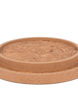 Natural Marble Round Tray Set