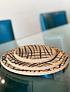 MIAMI base de table noire (3 pcs)