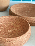 Red Cork Bowl Set