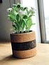 Vase Tradition II Noir / Naturel