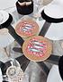 Azulejo Redondo Con Sardinas (2 uni)