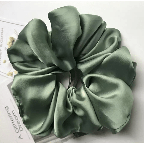Green Scrunchie XL