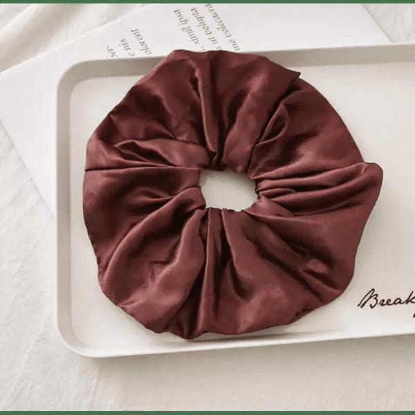 Coffee Scrunchie L
