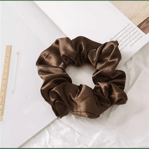 Dark Coffee Scrunchie